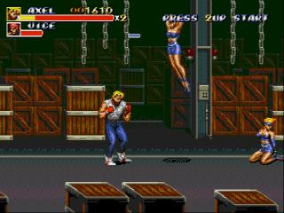 Screenshot Thumbnail / Media File 1 for Bare Knuckle III (Japan) [En by Twilight v1.0]